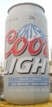 Coors Can Inflatables