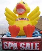 Fun Duck in Tub Inflatable