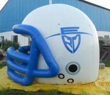 giant inflatable helmet