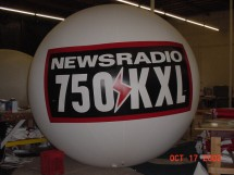 Radio Promotional Balloon